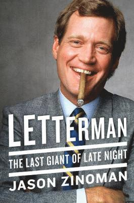 bokomslag Letterman - the last giant of late night