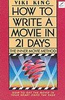 bokomslag How to Write a Movie in 21 Days
