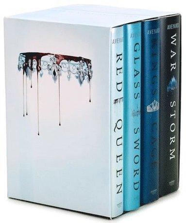 bokomslag Red Queen 4-Book Hardcover Box Set: Books 1-4