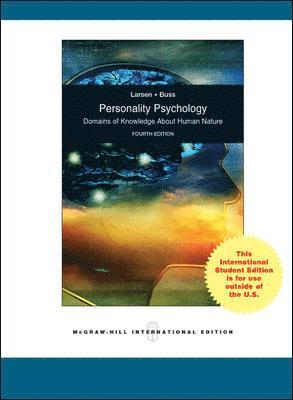 bokomslag Personality psychology : domains of knowledge about human nature