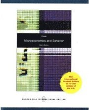 bokomslag Microeconomics and Behavior