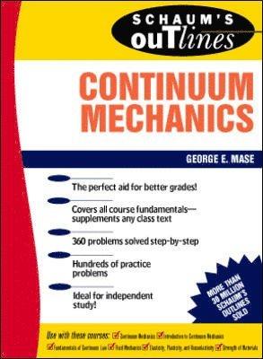 bokomslag Schaum's Outline of Continuum Mechanics