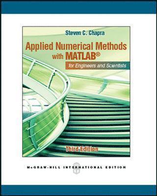bokomslag Applied Numerical Methods W/MATLAB (Int'l Ed)