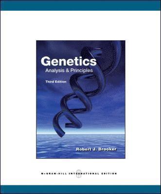 bokomslag Genetics : analysis and principles