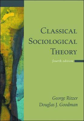 bokomslag Classical Sociological Theory