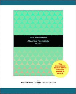 bokomslag Abnormal Psychology