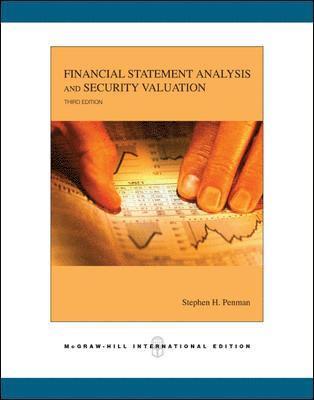 bokomslag Financial statement analysis and securit