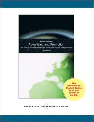 bokomslag Advertising and Promotion: An Integrated Marketing Communications Perspective