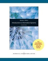 bokomslag Introduction to Information Systems, Loose Leaf