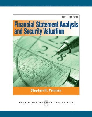 bokomslag Financial Statement Analysis and Security Valuation (Int'l Ed)