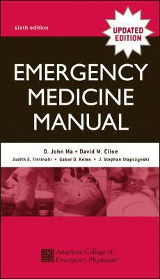 bokomslag Emergency medicine manual : a comprehensive study guide