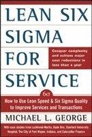 bokomslag Lean Six Sigma for Service