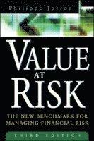 bokomslag Value at risk, 3rd ed. - the new benchmark for managing financial risk