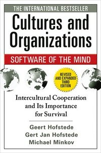 bokomslag Cultures and Organizations: Software of the Mind, Third Edition