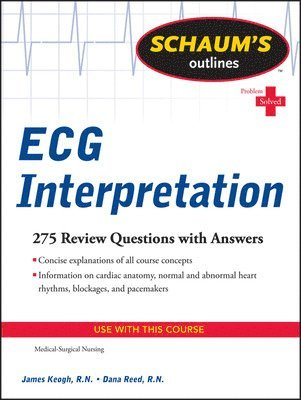 bokomslag Schaum's Outline of ECG Interpretation