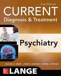 bokomslag CURRENT Diagnosis & Treatment Psychiatry, Third Edition