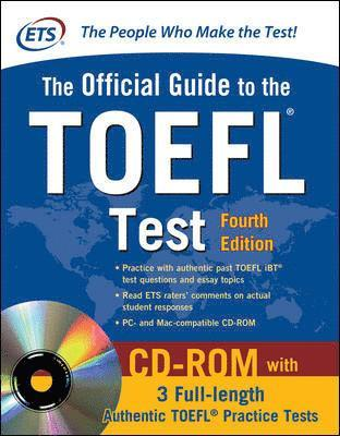 bokomslag Official Guide to the TOEFL Test , 4th Edition [With CDROM]