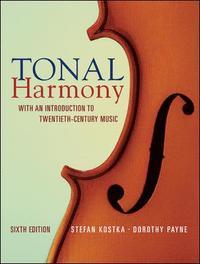 bokomslag Tonal harmony : with an introduction to twentieth-centur
