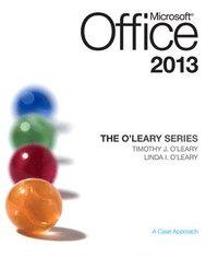 bokomslag The O'Leary Series: Microsoft Office 2013