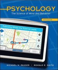 bokomslag Psychology: The Science of Mind and Behavior