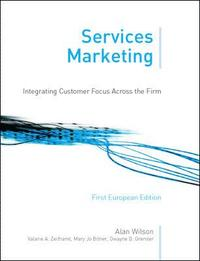 bokomslag Services marketing : integrating customer focus across the fi