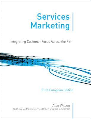 bokomslag Services marketing : integrating customer focus across the fi