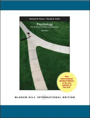 bokomslag Psychology : the science of mind and behaviour