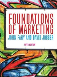 bokomslag Foundations of Marketing