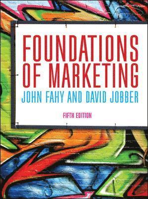 bokomslag Foundations of Marketing