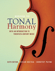bokomslag MP Tonal Harmony Workbook with Workbook CD and Finale Discount Code