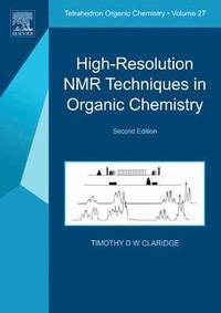 bokomslag High-Resolution NMR Techniques in Organic Chemistry