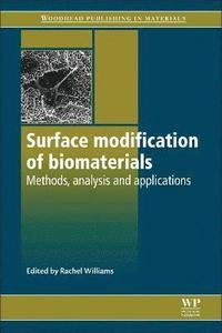 bokomslag Surface Modification of Biomaterials