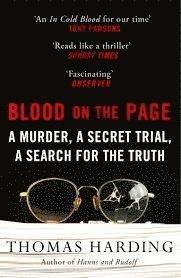 bokomslag Blood on the Page