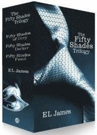 bokomslag Fifty Shades Trilogy Boxed Set