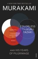 bokomslag Colorless Tsukuru Tazaki and His Years of Pilgrimage