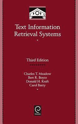 bokomslag Text Information Retrieval Systems