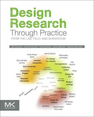 bokomslag Design Research Through Practice: From the Lab, Field, and Showroom