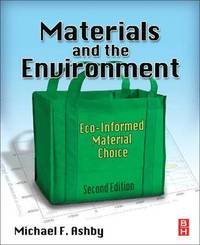bokomslag Materials and the Environment: Eco-informed Material Choice