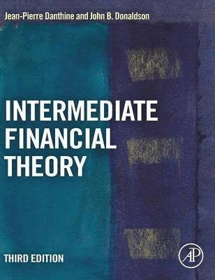 bokomslag Intermediate Financial Theory