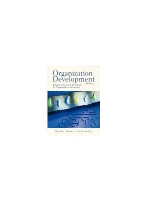 bokomslag Organization Development: Behavioral Science Interventions for Organization Improvement