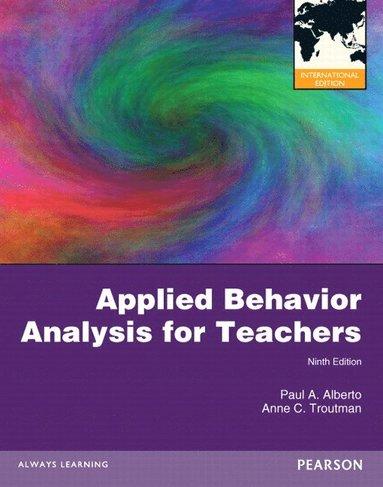 bokomslag Applied Behavior Analysis for Teachers