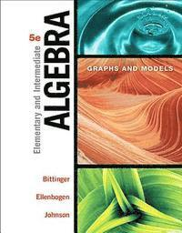 bokomslag Elementary and Intermediate Algebra: Graphs and Models Plus Mylab Math -- Student Access Kit