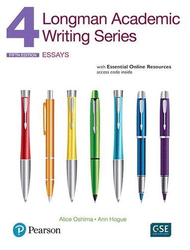 bokomslag Longman Academic Writing Series 4: Essays, with Essential Online Resources
