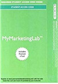 bokomslag 2017 Mymarketinglab with Pearson Etext -- Access Card -- For Marketing: An Introduction