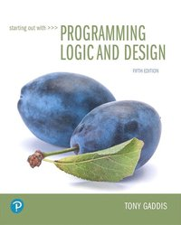bokomslag Starting Out with Programming Logic and Design