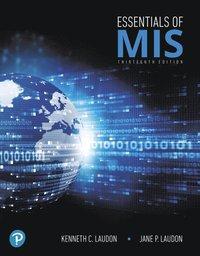 bokomslag Essentials of MIS