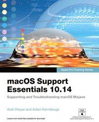 bokomslag macOS Support Essentials 10.14 - Apple Pro Training Series