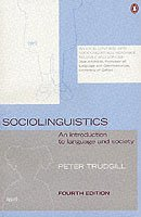 bokomslag Sociolinguistics: An Introduction to Language and Society
