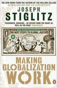 bokomslag Making Globalization Work PB