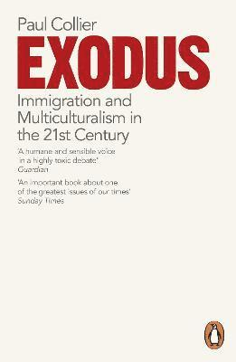 bokomslag Exodus - immigration and multiculturalism in the 21st century